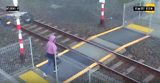 Shocking: Woman ALMOST hit by speeding train, Auckland