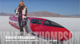 Valerie Thompson Worlds Fastest Female Motorcycle Racer 304 MPH