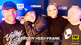 Frosty, Heidi and Frank with guest Jo Koy