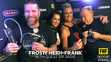 Frosty, Heidi and Frank with guest Dr Sadie
