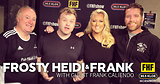 Frosty, Heidi and Frank with guest Frank Caliendo