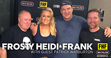 Frosty, Heidi and Frank with guest Patrick Warburton
