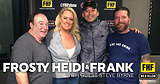 Frosty, Heidi and Frank with guests Steve Byrne