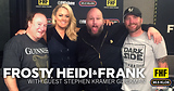Frosty, Heidi and Frank with guest Stephen Kramer Glickman