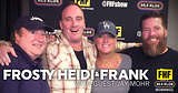 Frosty, Heidi and Frank with guest Jay Mohr