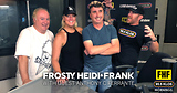 Frosty, Heidi and Frank with guest Anthony C Ferrante