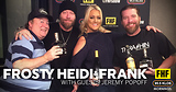Frosty, Heidi and Frank with guest Jeremy Popoff