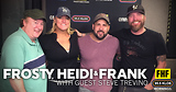 Frosty, Heidi and Frank with guest Steve Trevino